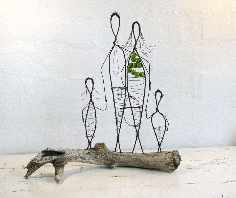 Simple wire sculpture for How to make a wire sculpture
