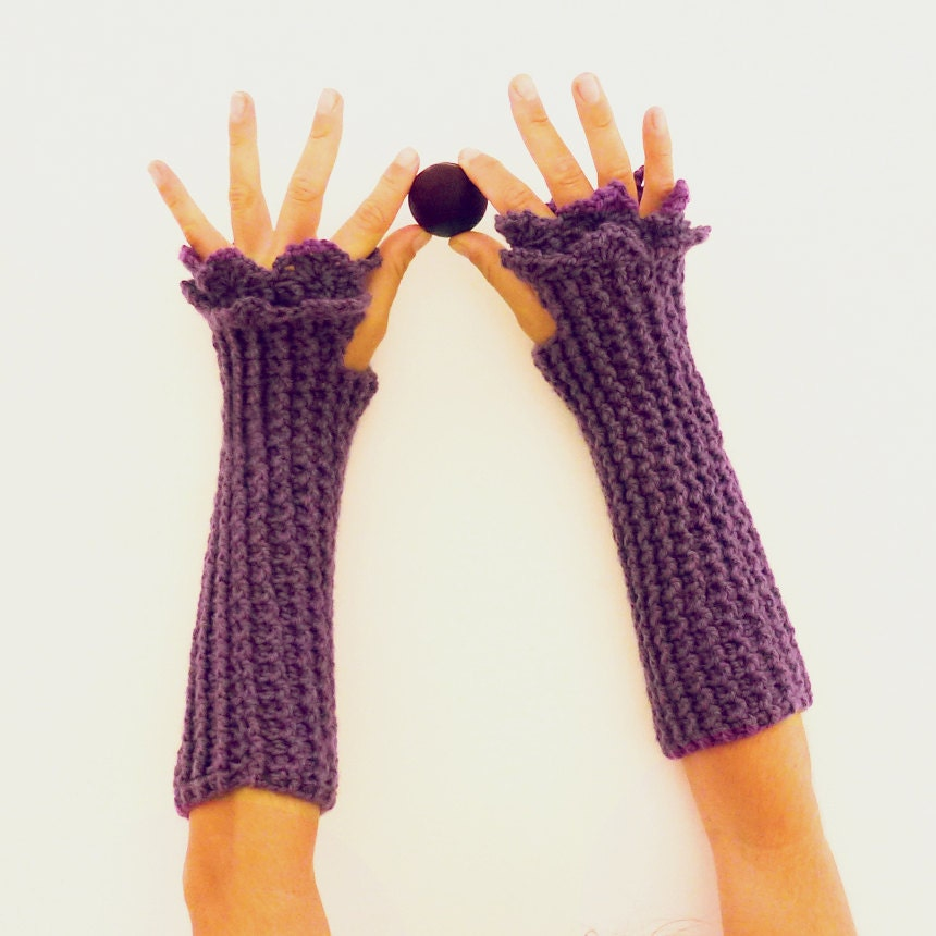 Fingerless Crochet Pattern Mittens Grace PDF beginners by ...