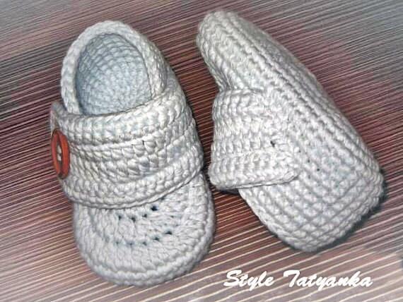 Easy Crochet Baby Boy Hat Patterns : Booties crochet pattern baby booty model HK4 by HoneyKids ...