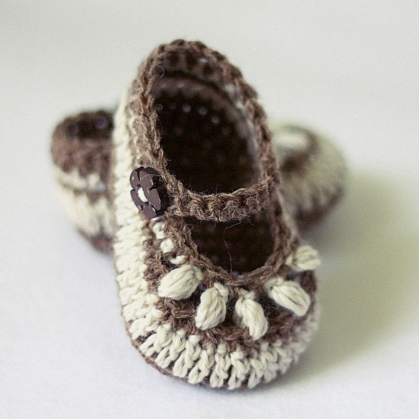 Instant download Baby Booties Crochet PATTERN by ...