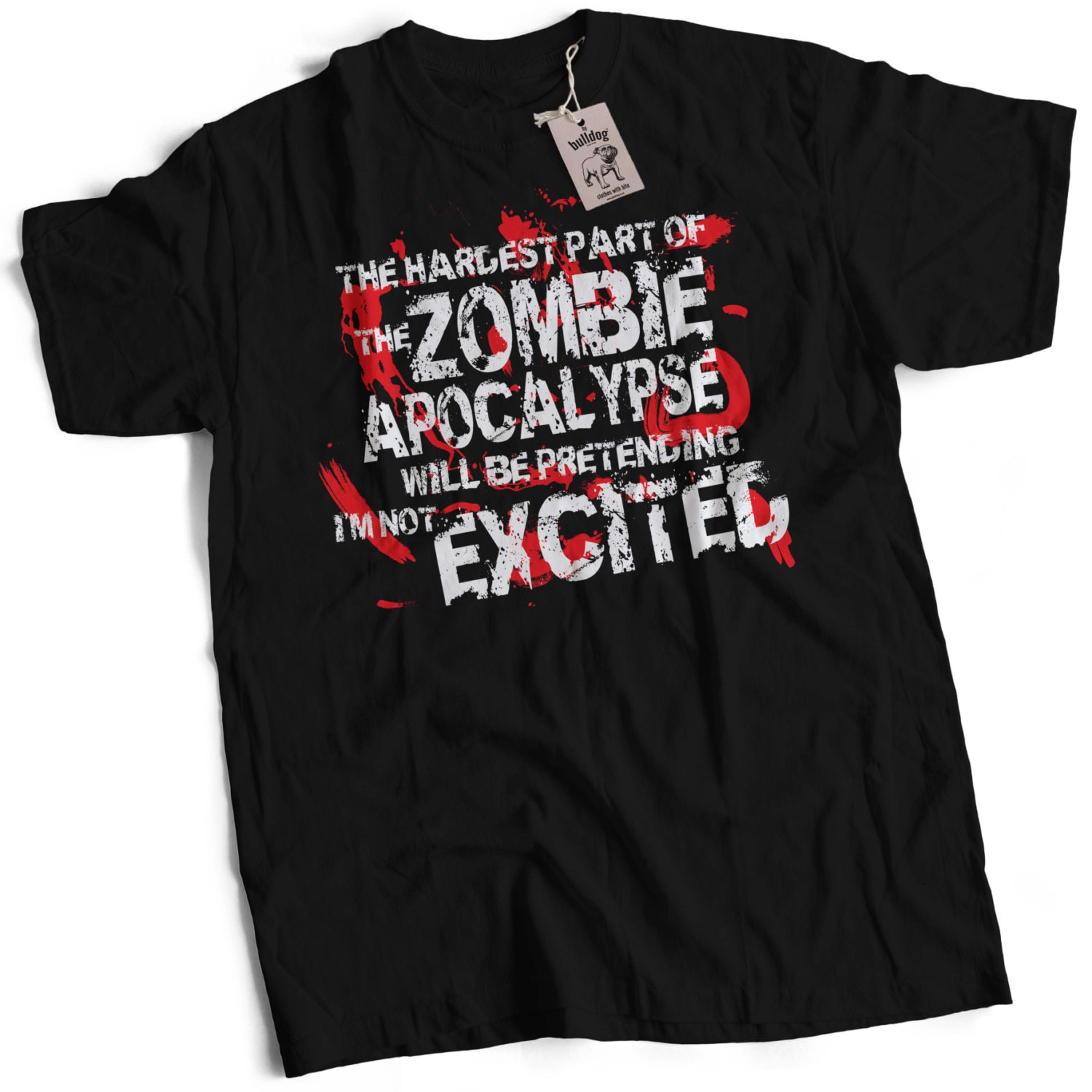 The Hardest Part of The Zombie Apocalypse Mens Premium TShirt Choice of Sizes Small to 3XL