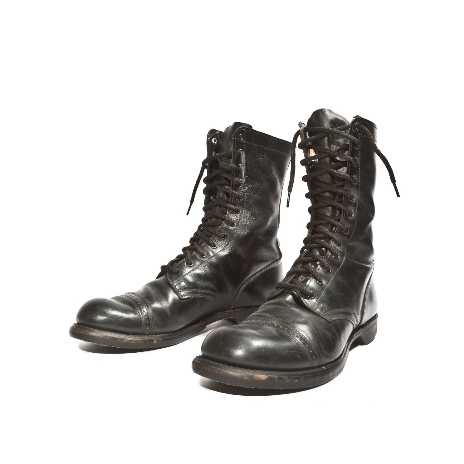 items similar to s vintage combat boots h