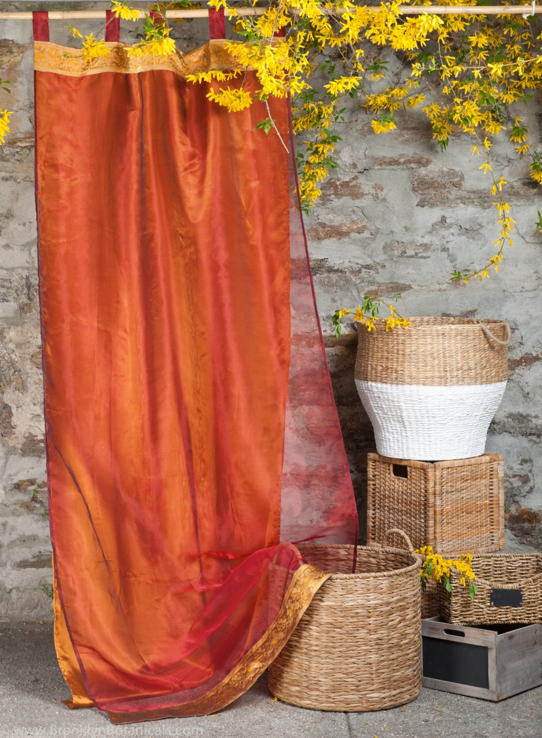 ... similar to Burgundy, Lined Brocade Curtains - 86'' x 46'' on Etsy