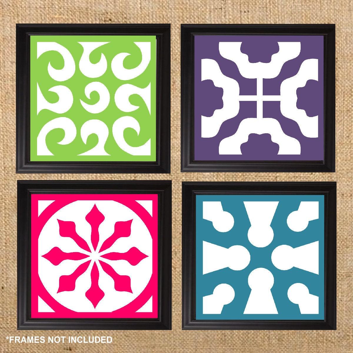 Items similar to home decor art prints modern art decor for 8x8 living room