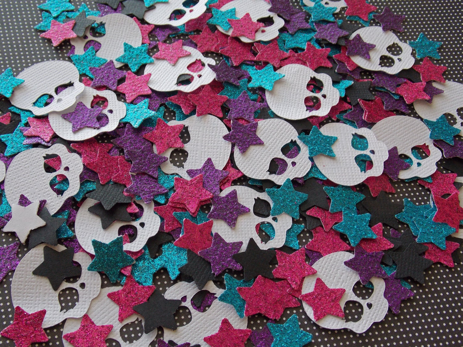 Monster High Inspired Confetti Mix 200 Pieces by Steph1999 on Etsy