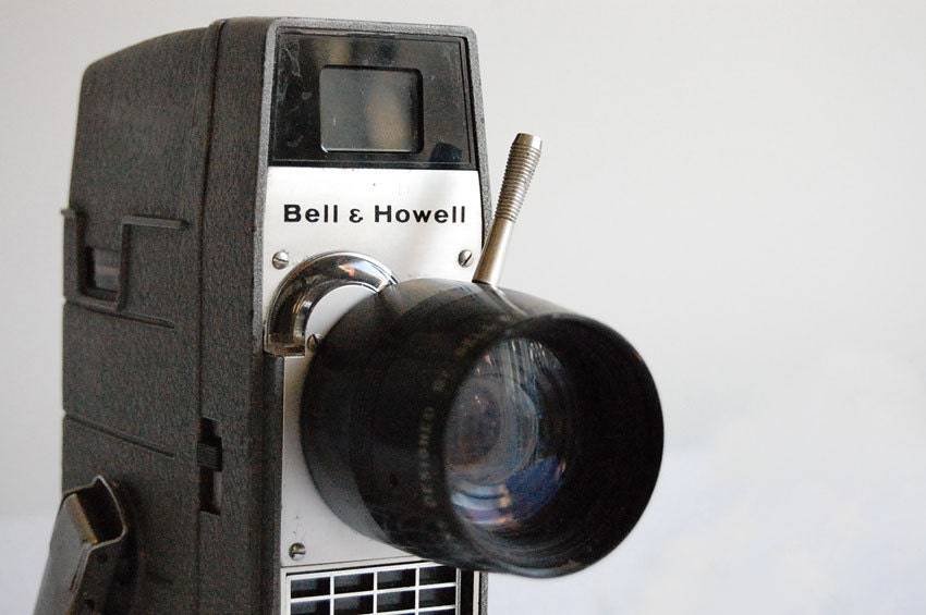 Vintage Bell & Howell Movie Camera 8 mm - thelittlebiker