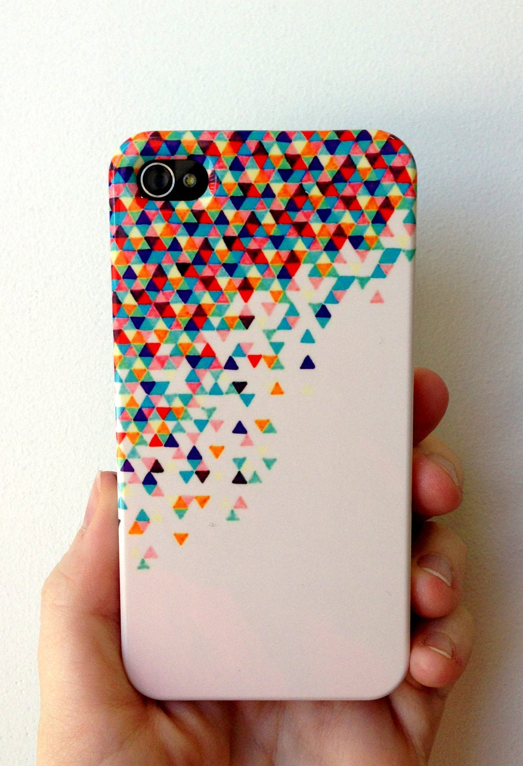 Iphone 4 case funfetti 2 electric by abstractgraphdesigns for Creative iphone case ideas