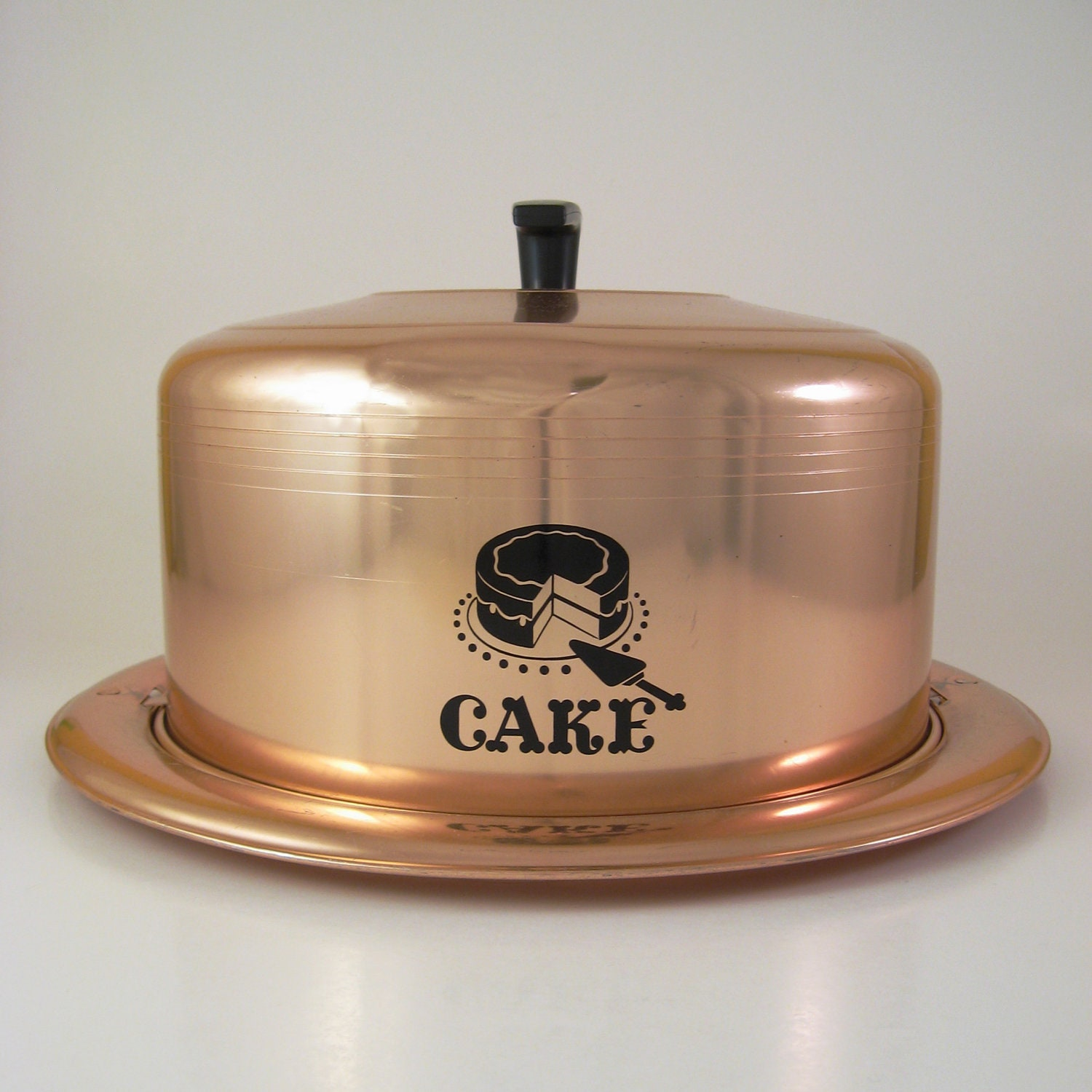 Copper Cake Carrier