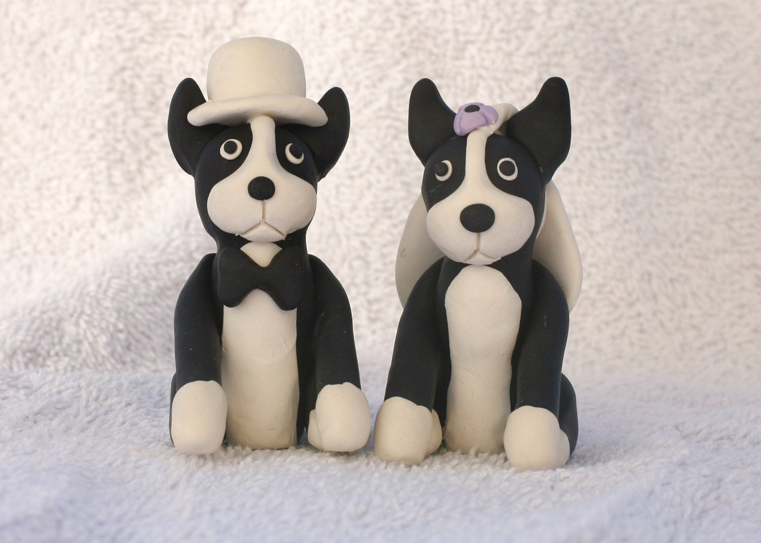 wedding cake toppers with dogs
