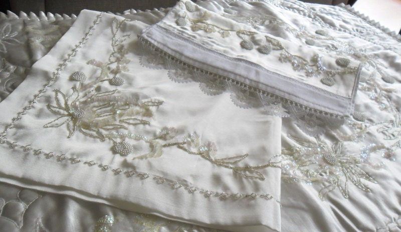 Beadwork 3 Pcs Prayer Rug Towel Cover