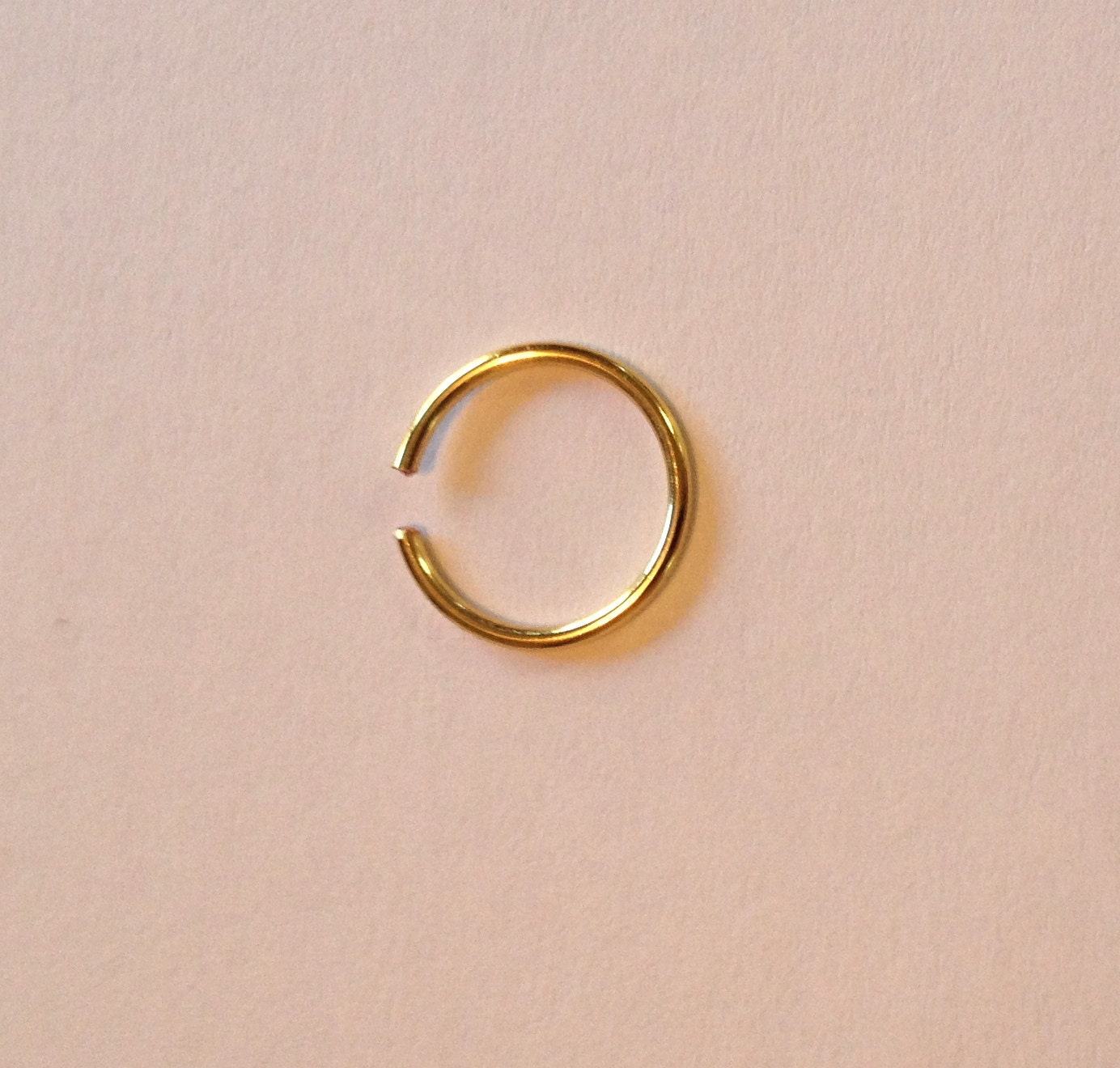 nose tragus cartilage eyebrow ring piercing by