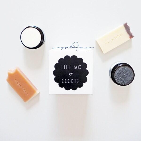 Little Goodies Gift Box (Favourites) - Soap, Body Polish, Body Mousse