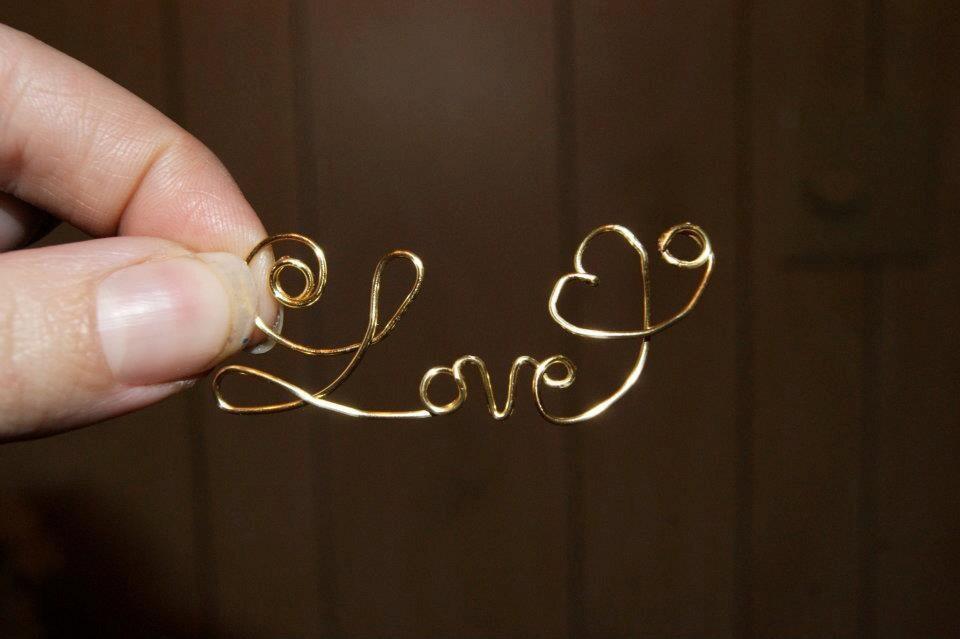 Cursive Love Heart