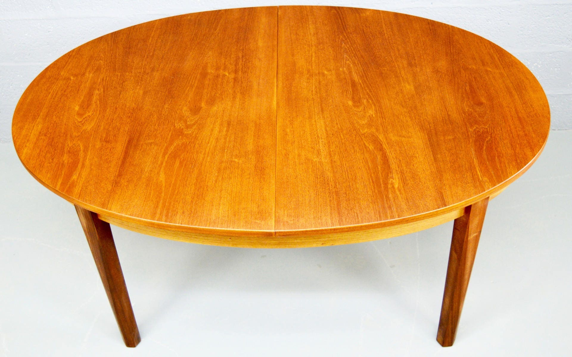 MidCentury Extendable Teak Dining Table by William Lawrence