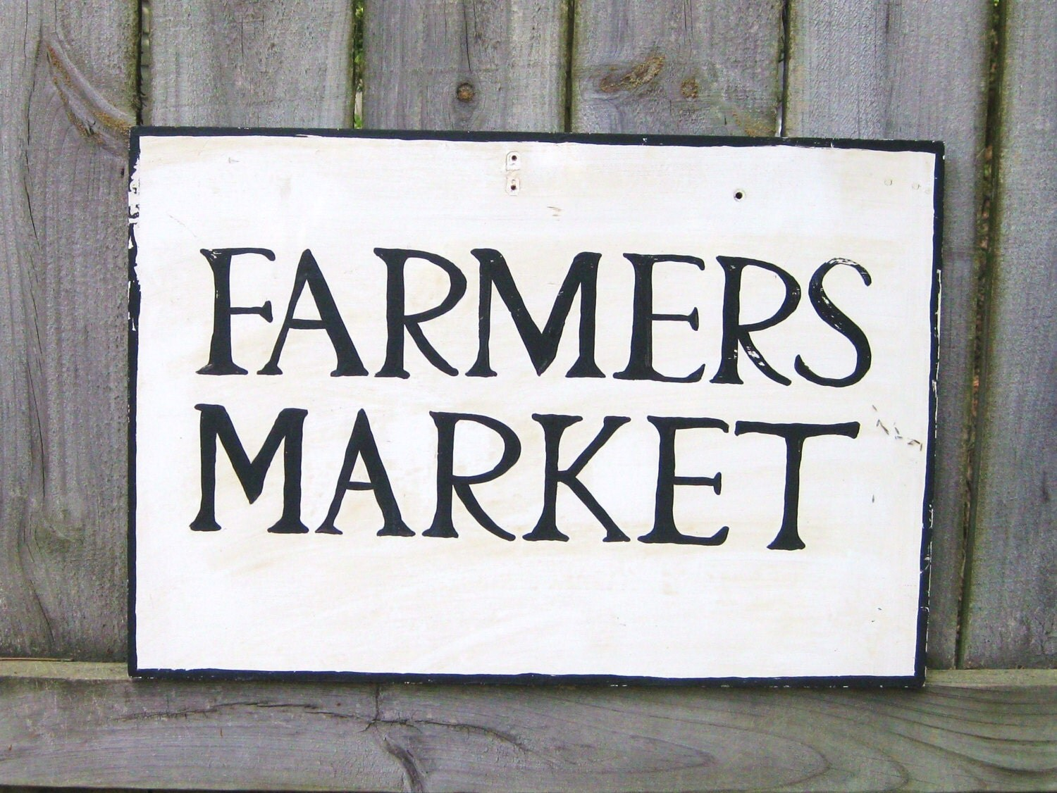 Vintage Farmers Market Sign Farmers Market Sign by...