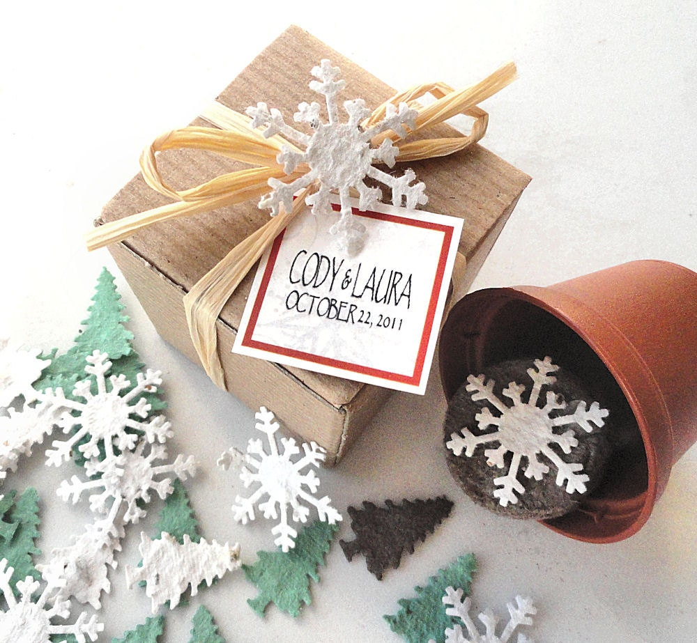 Blooming Stocking Stuffers - Unique Christmas Gifts Holiday Party Favors