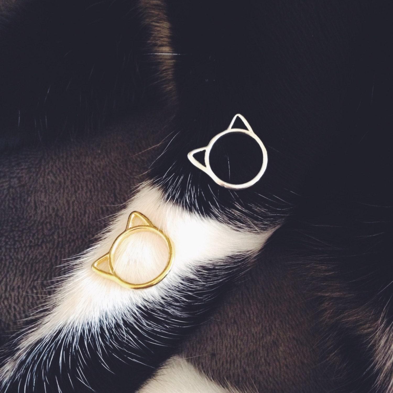 Image du produit Bague de phalange Chat