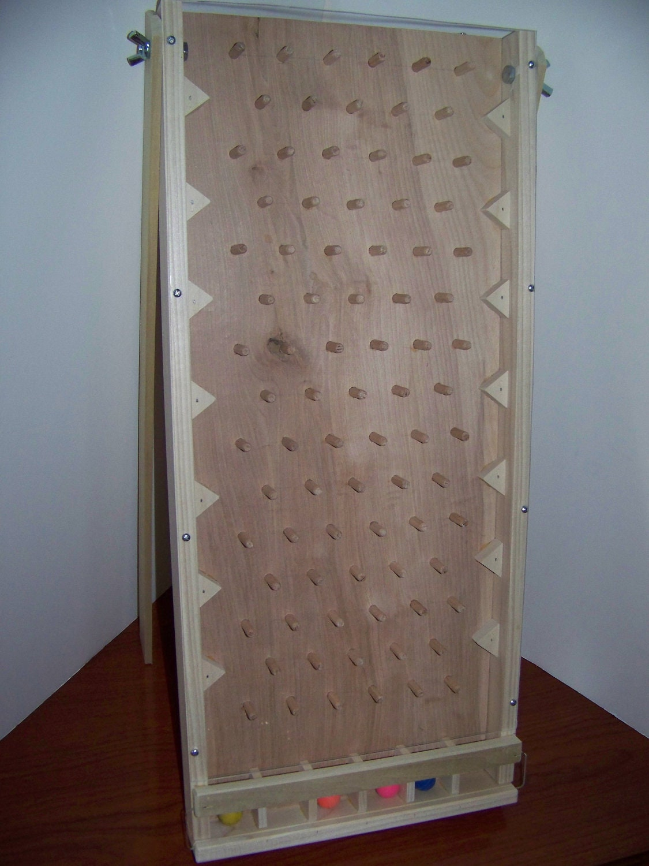 how to make a homemade plinko board