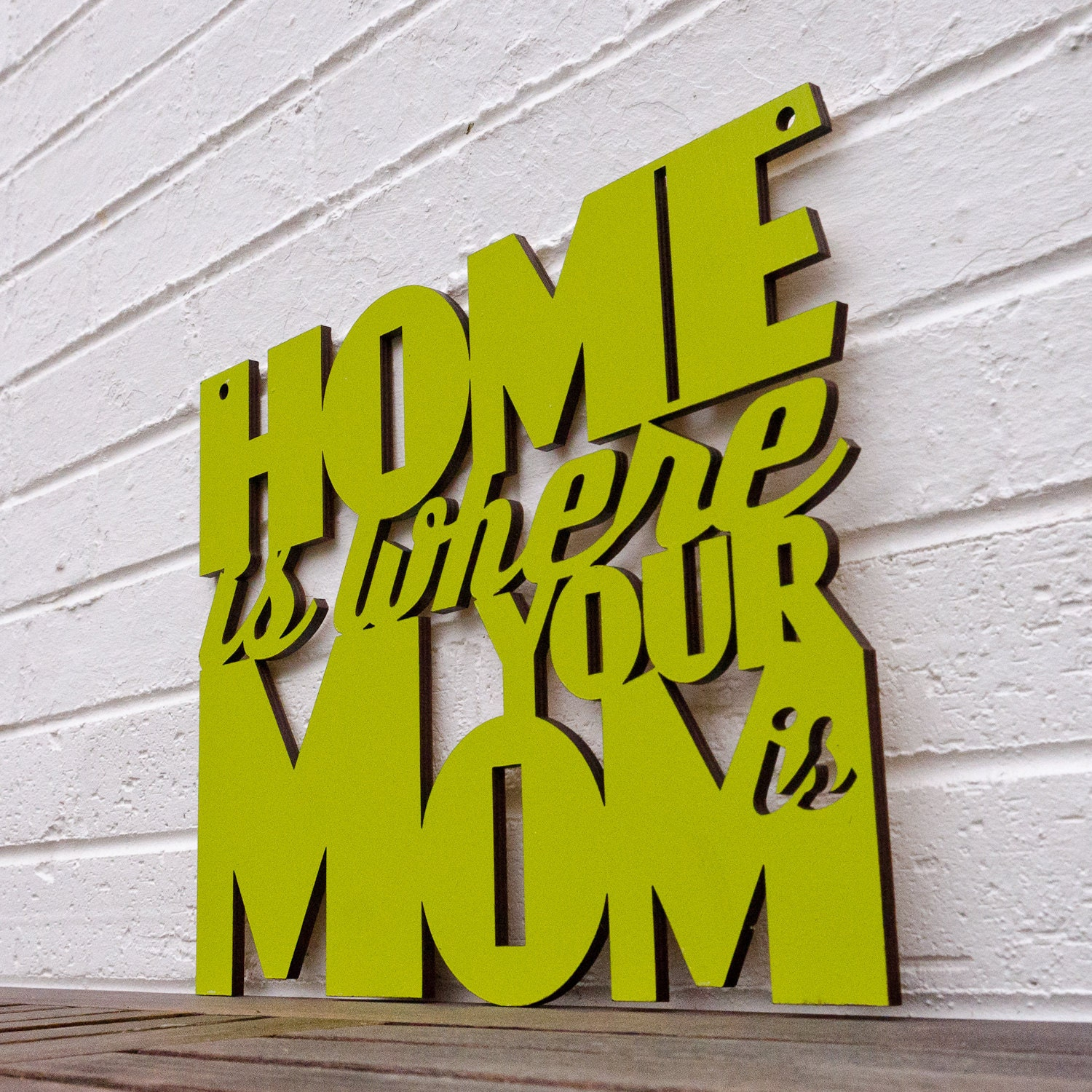 Home is Where your Mom is (home sweet home, gift for mom)