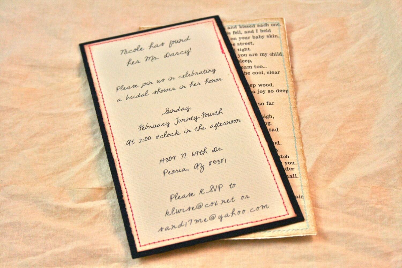 Items Similar To Vintage Wedding Invitations
