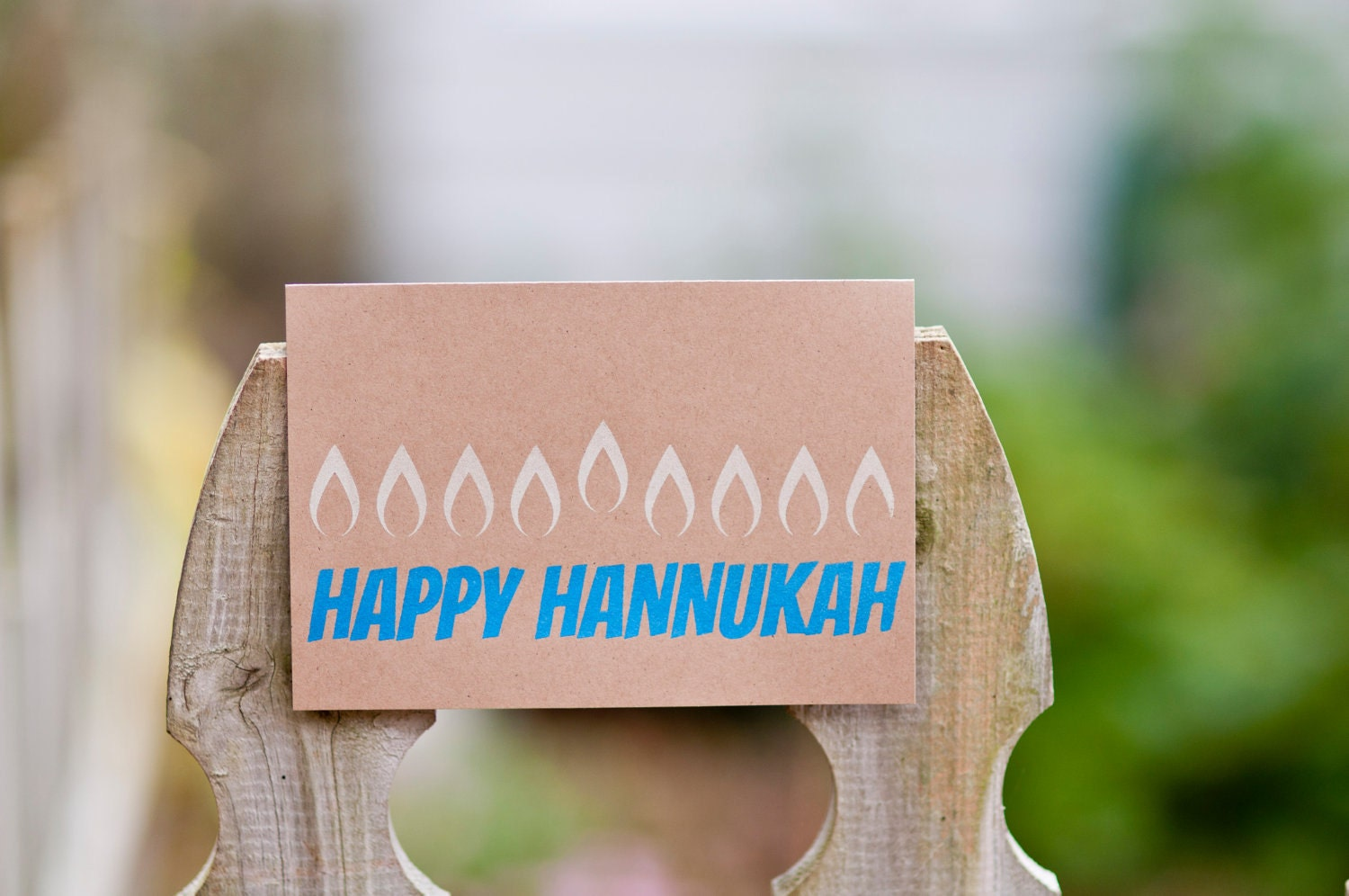 Happy Hannukah Greeting Card