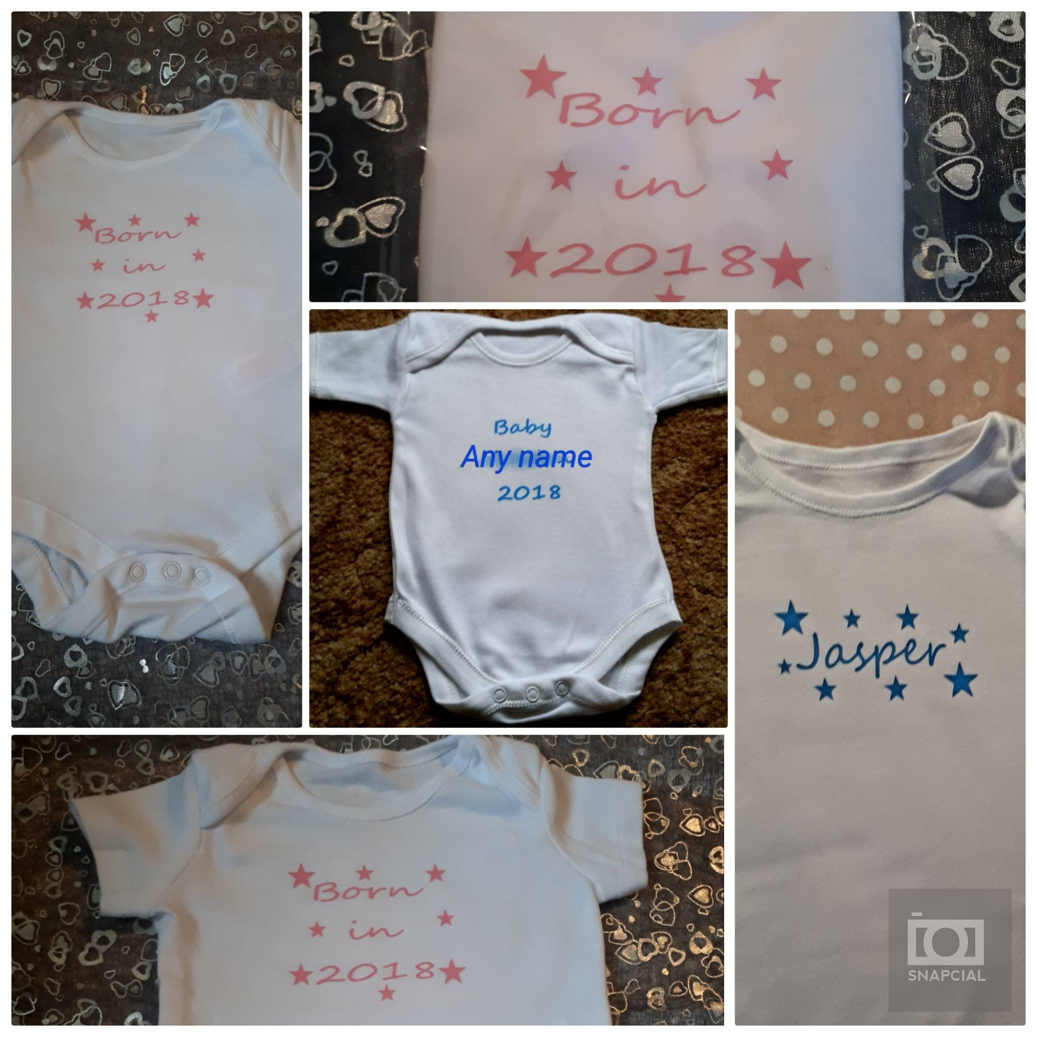 fiver friday, Born in 2018, baby grow, new baby, baby shower, new baby, 2018, baby boy, baby girl, baby shower present, birth present