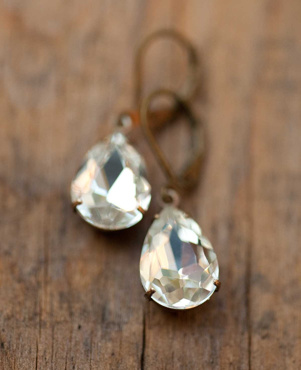 Estate Style Vintage Earrings Spring Wedding Sparkle - Darcy's Gift