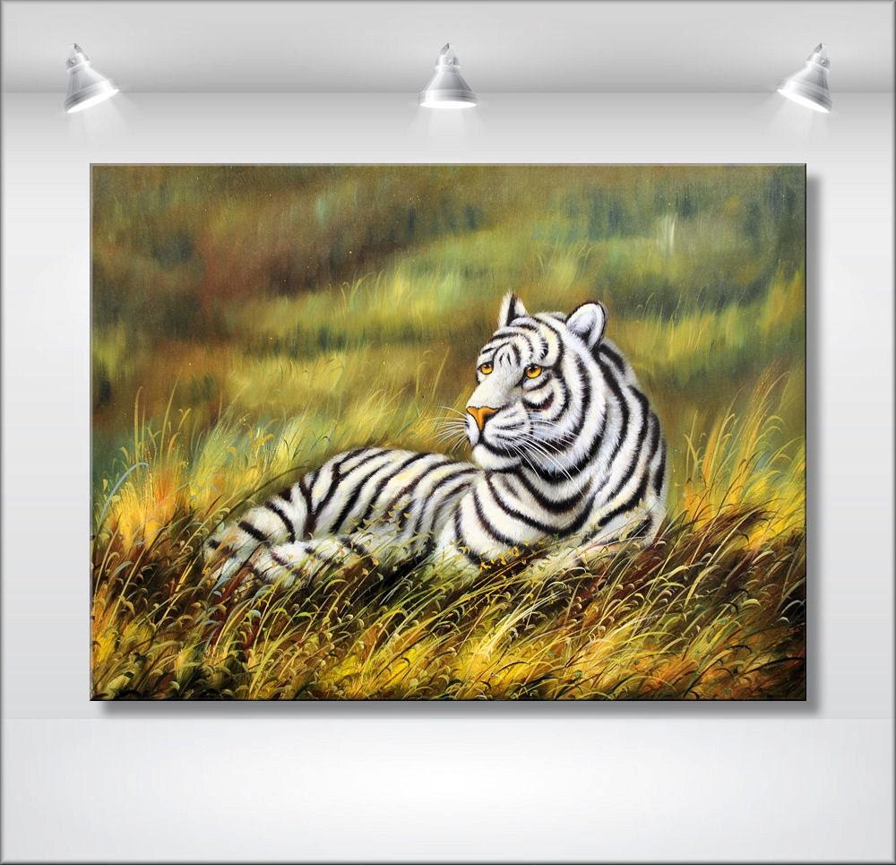 Original Wildlife Painting Acrylic Painting by EttisGallery