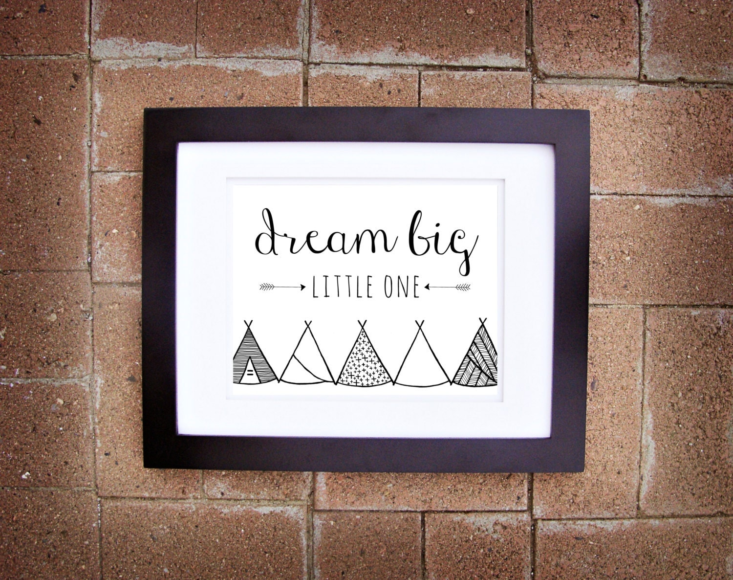 Dream Big Little One - 8x10 Printable Art - Instant Download