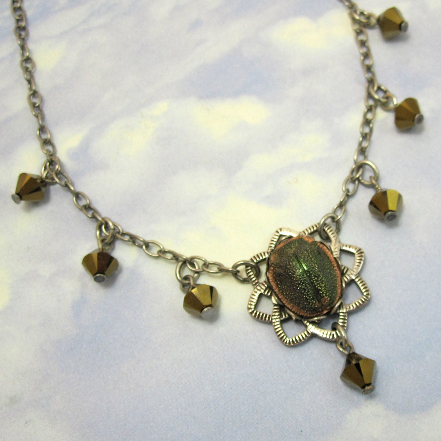 egyptian scarab necklace - photo #34