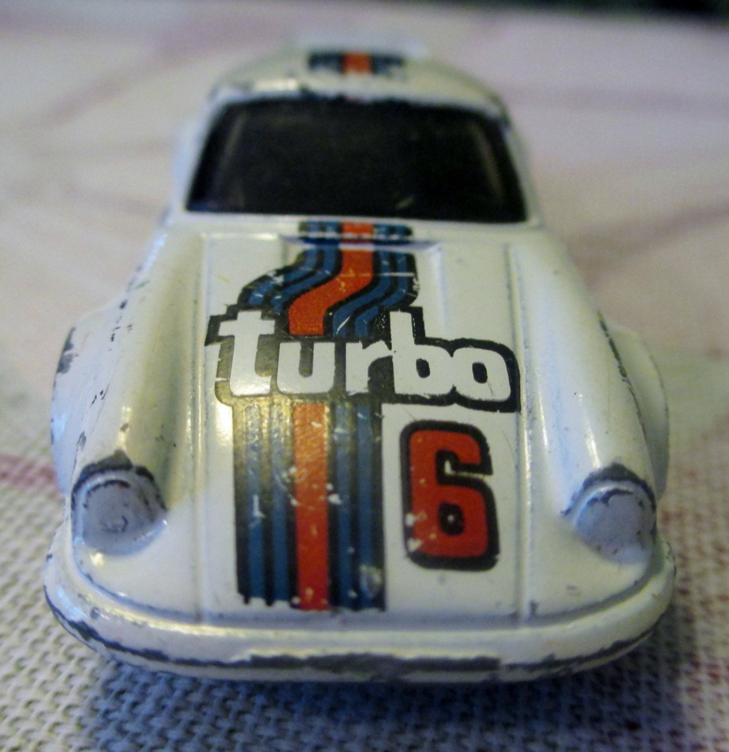 Hot Wheels P 911 Turbo 6 Porsche Vintage Toy By