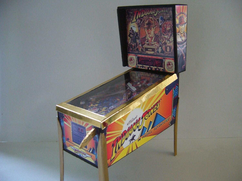 Indiana Jones Classic Miniature Pinball Table Model 112 Scale