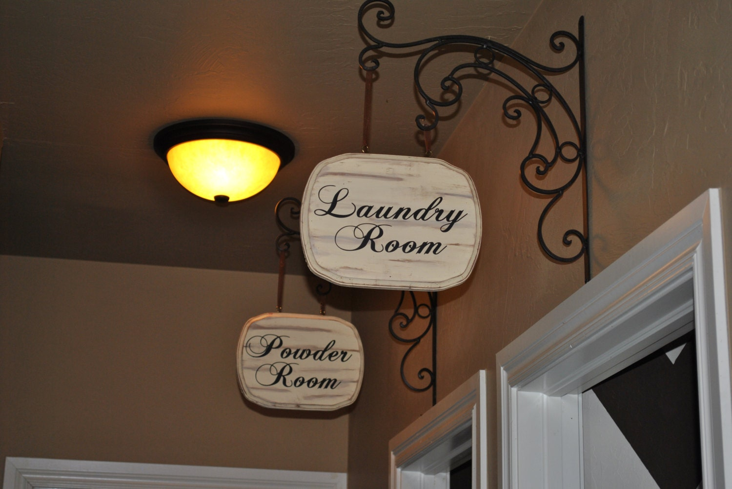 Hanging Laundry Sign Laundry Room Etsy  New Interior Design