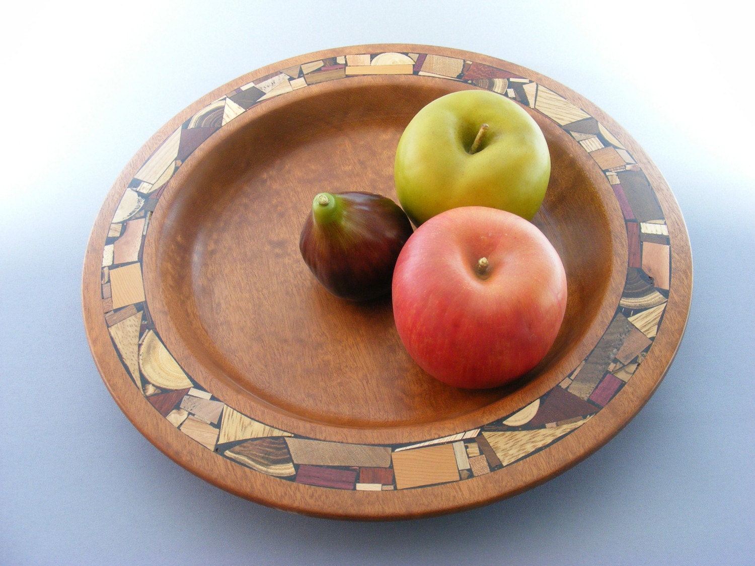 Bowl- Wood Mosaic Inlay - EtzRon