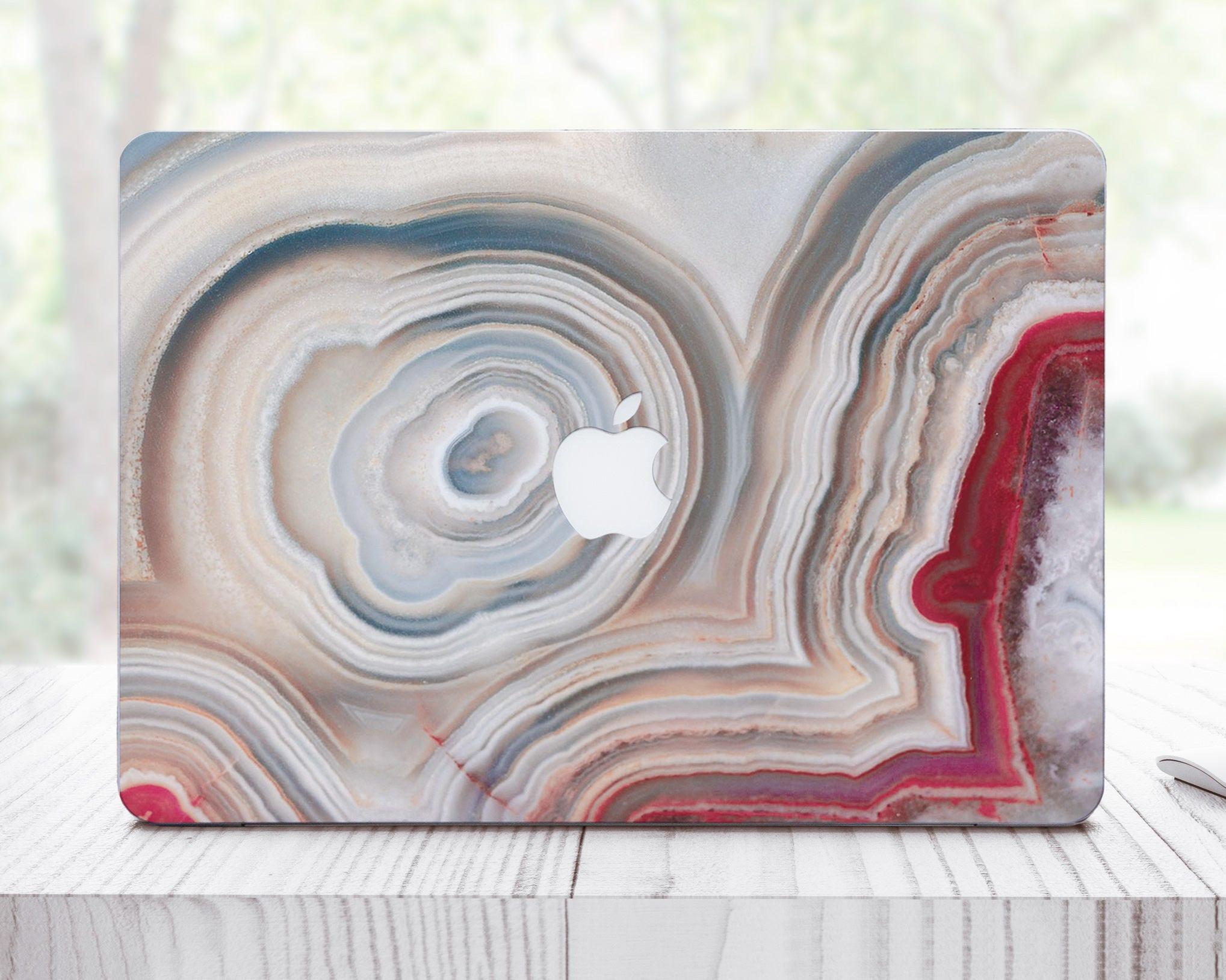 Marble Cover Pro Retina 15 Vinyl Skin MacBook Vinyl Decal Laptop Decal Red MacBook Pro Retina 13 Decal MacBook 12 Decal For MacBook ES0083