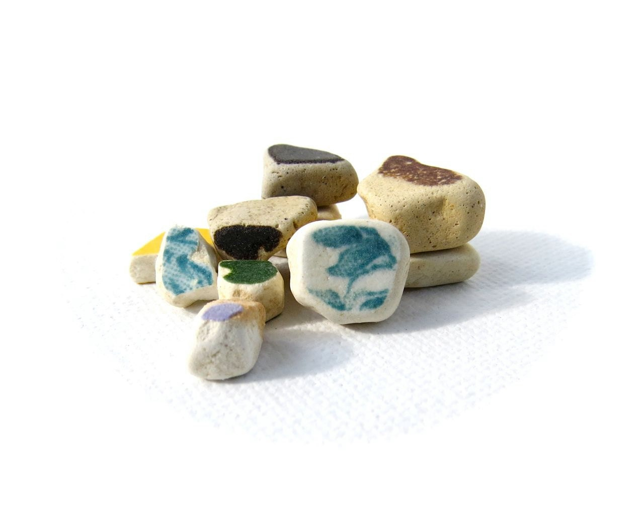 Authentic Beach Pottery: Tiny Confetti - TheJetty