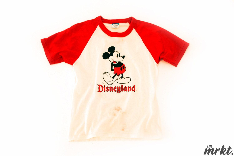 1980s Disneyland Raglan T-Shirt