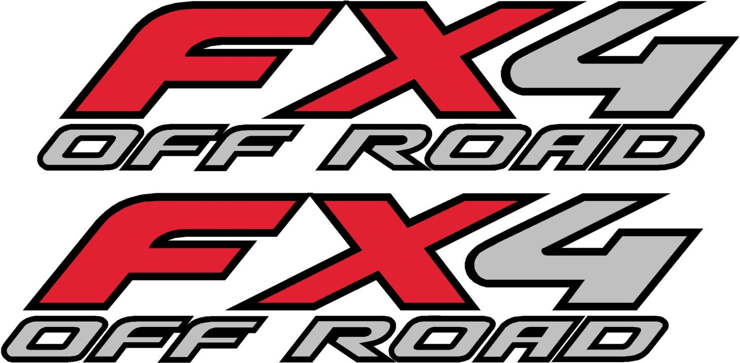 Fx4 off road decals submited images