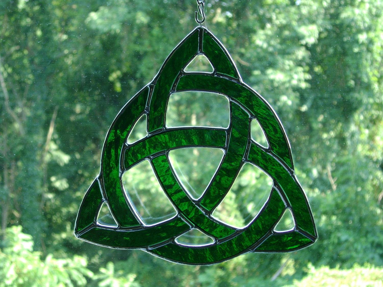 Irish Celtic Symbol For Inner Strength Celtic trinity knot with