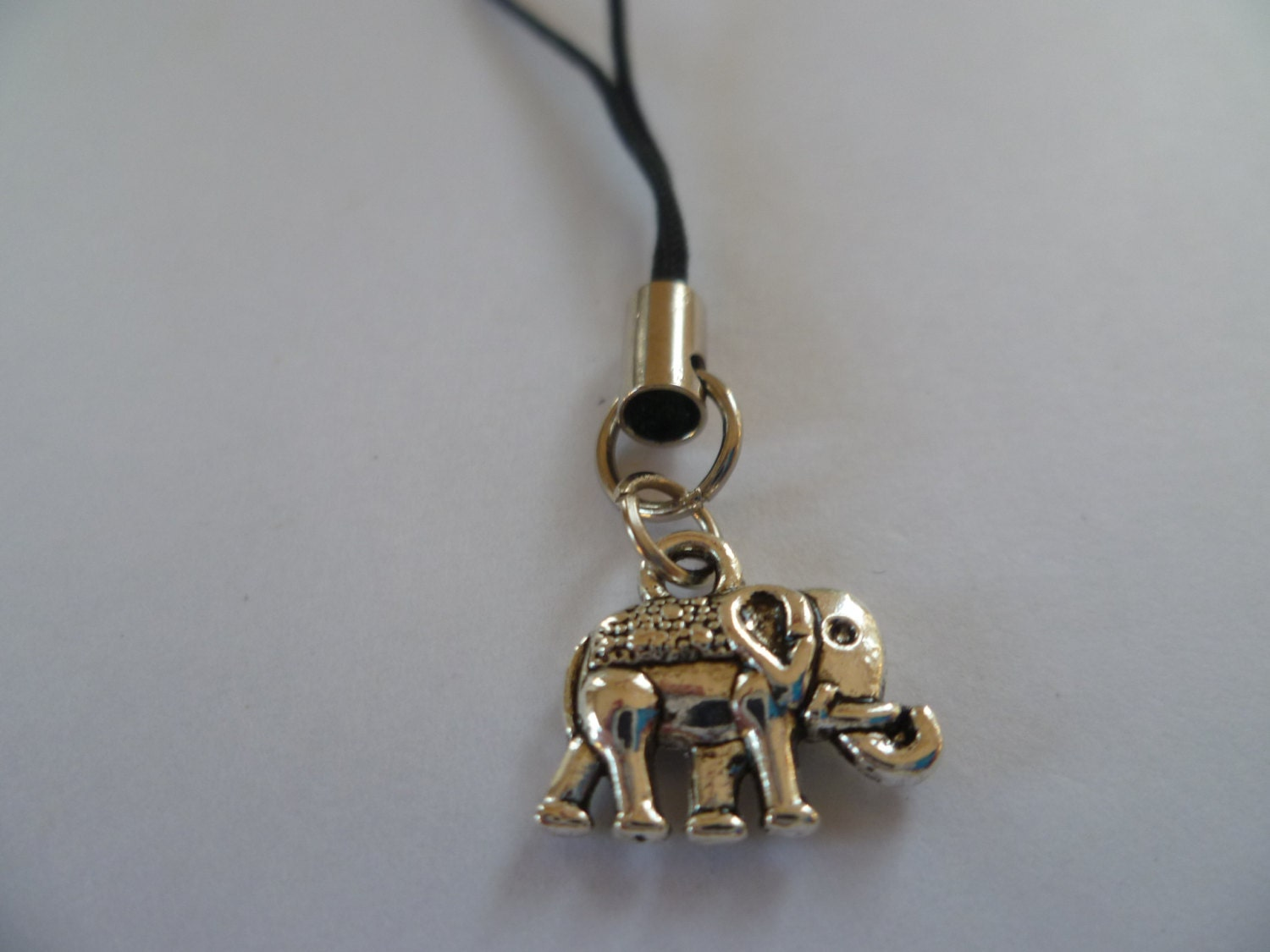 Elephant phone charm mobile accessory cell phone charmphone accessorygiftelephant charmcell phone accessory
