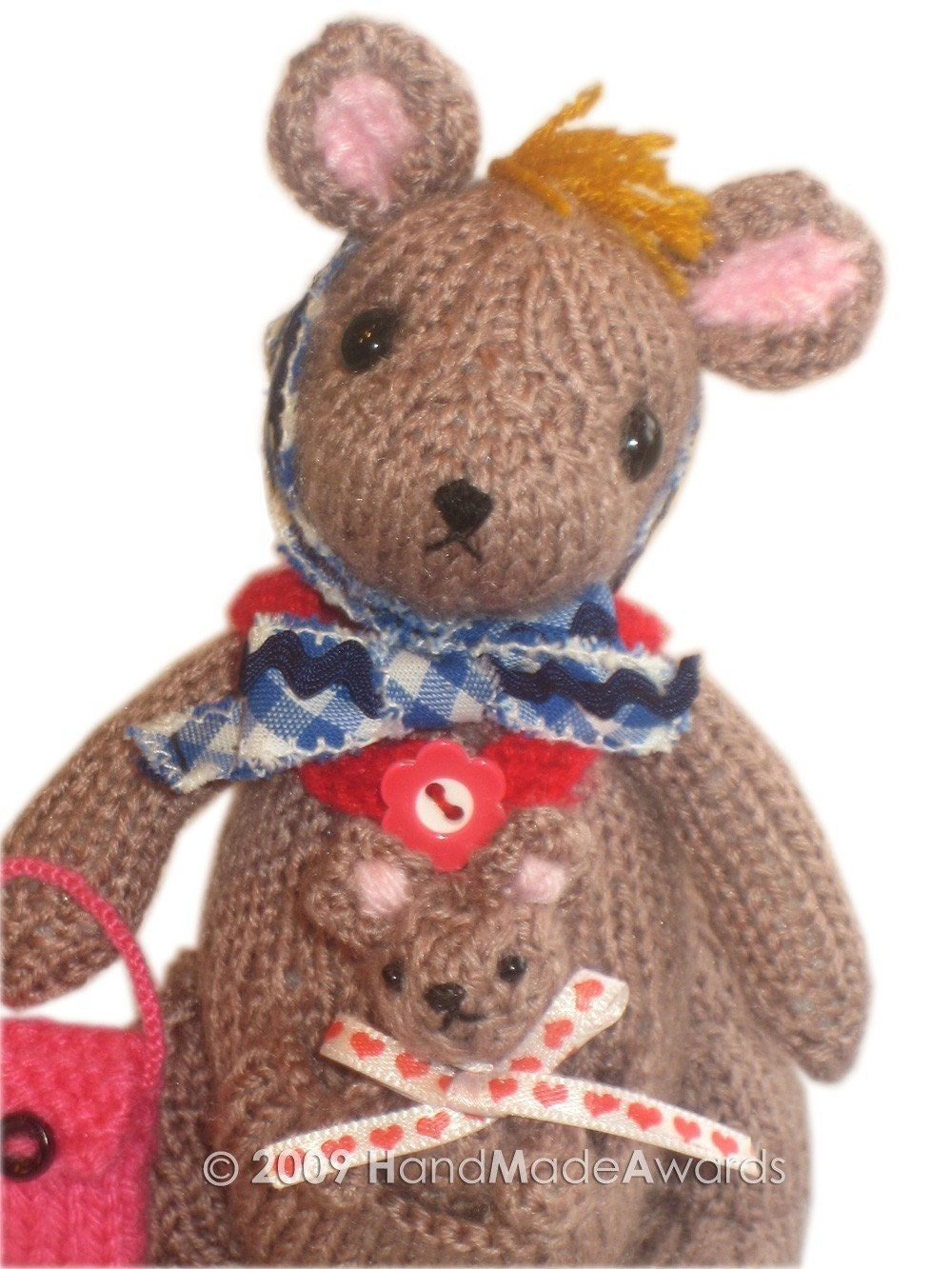 Lovely Mom Matilda Kangaroo with her Baby PDF by HandMadeAwards