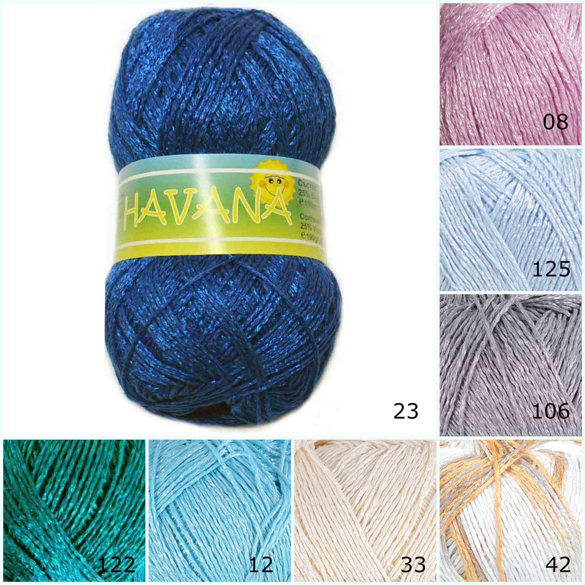 Пряжа для вязания крючком 60
