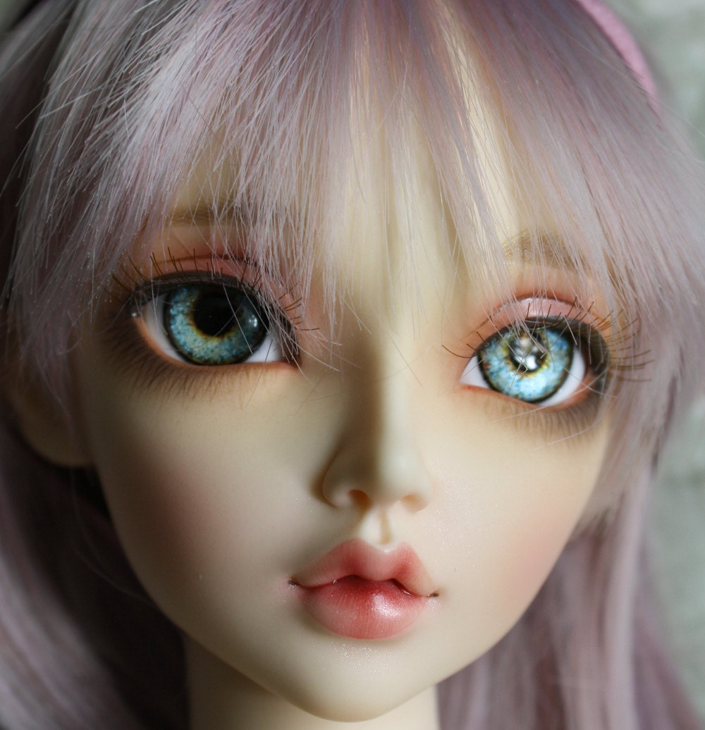BJD eyes Doll eyes Hand made available in 141618202224mm Anubis Blue made to order
