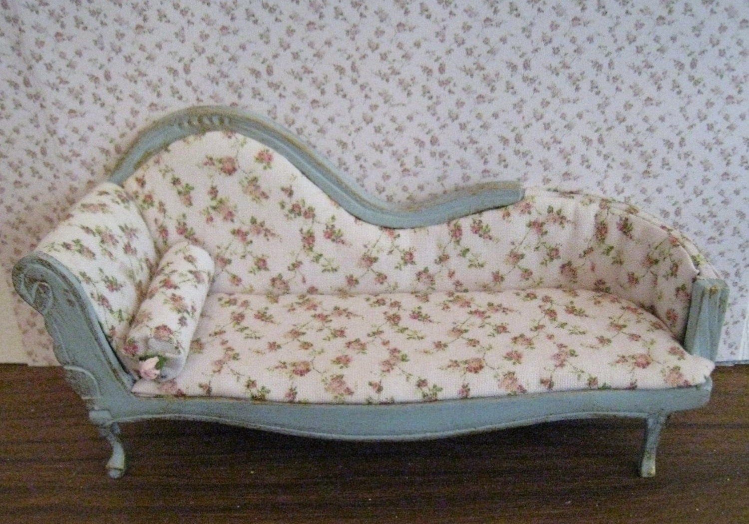 chaise ladies boudoir shabby chic a by insomesmallwayminis. Black Bedroom Furniture Sets. Home Design Ideas