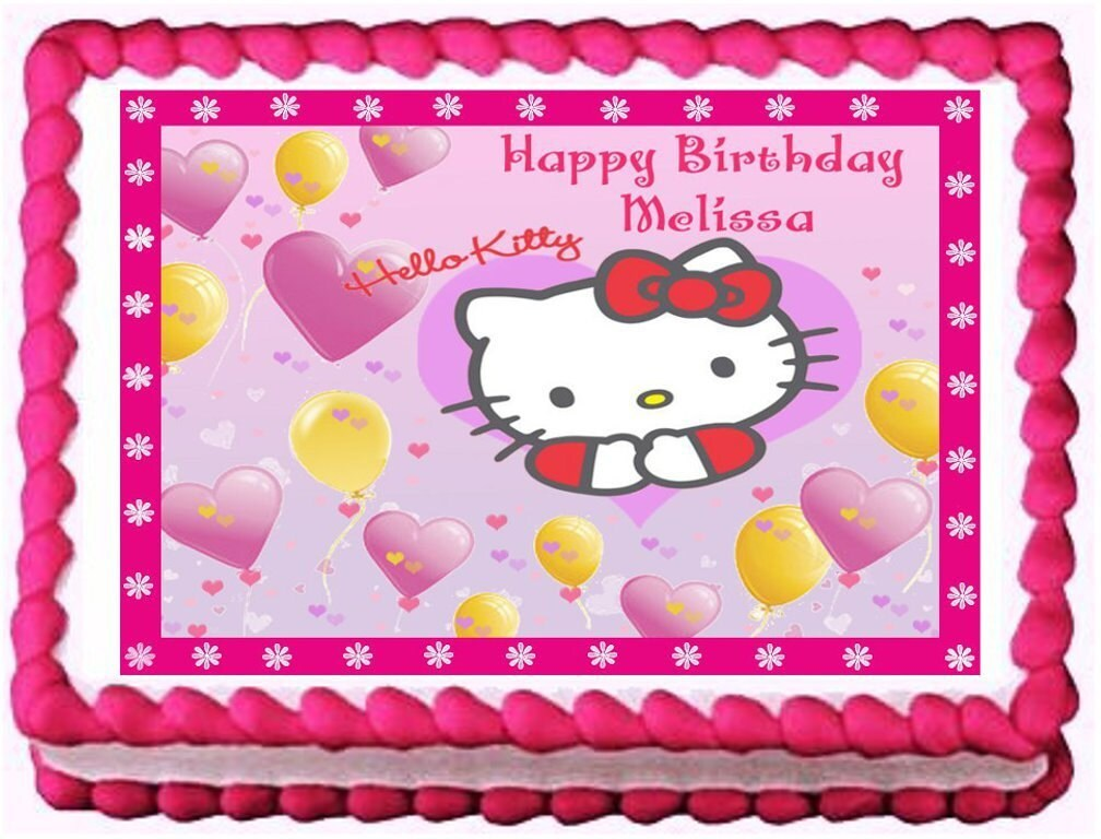 Hello Kitty Sheet Cake Images : Unavailable Listing on Etsy