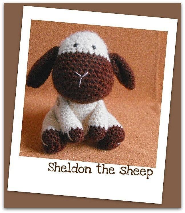 Sheldon - amigurumi crochet pdf pattern
