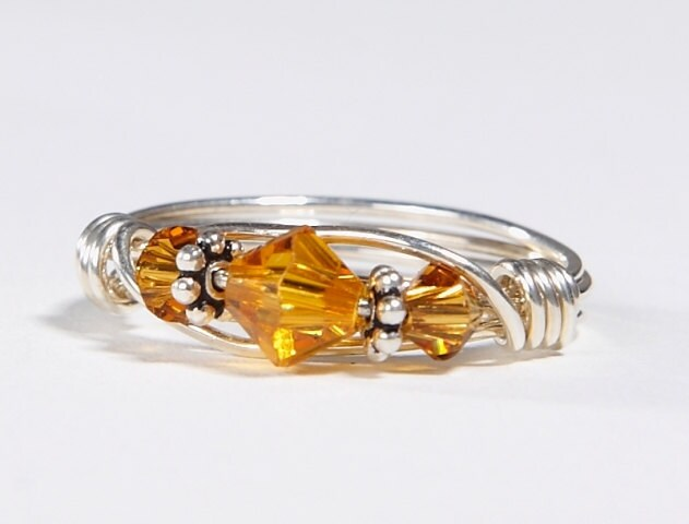 November Birthstone Topaz Ring Unavailable Listing on...