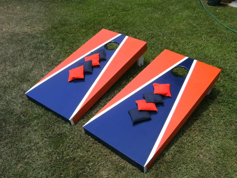 Aca Cornhole Deluxe Board Game Set Regulation By