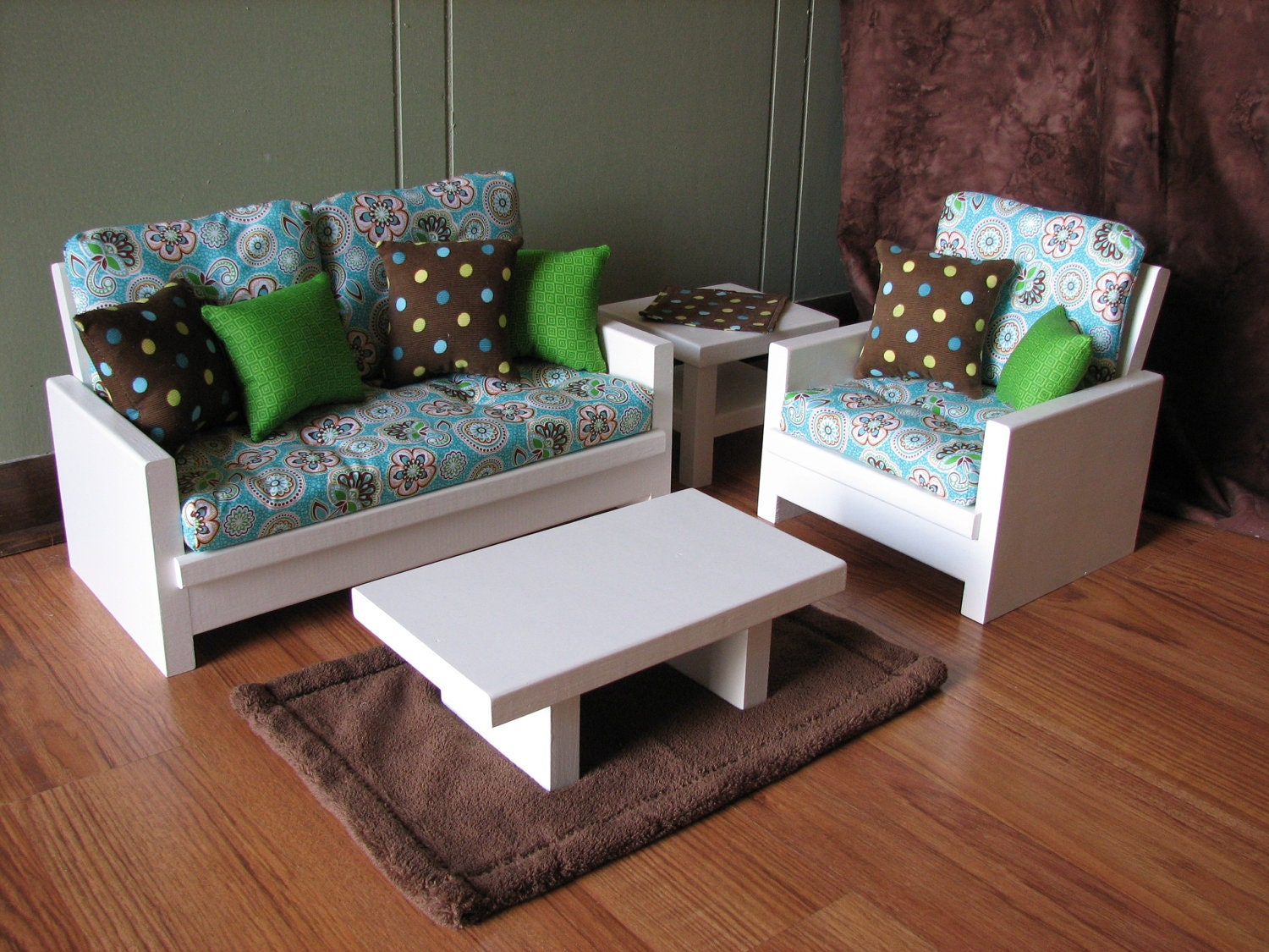 American Girl Sized 18 Inch Doll Furniture By Madigracedesigns