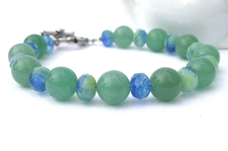 Green Aventurine Bracelet - KatieBugCreations4U